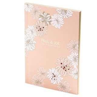 Mark's x PAUL & JOE A6 Notebook【Chrysanthemum (PAJ-NB2-A)】