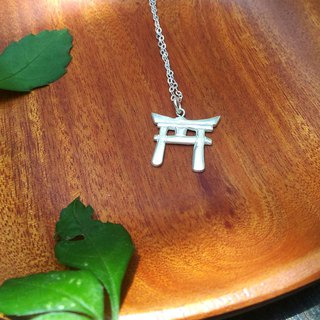/ Torii /  Sterling Silver Necklace ‧ Gift ‧ Japan