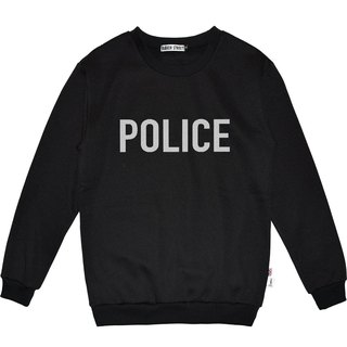 British Fashion Brand -Baker Street- Police Printed Sweater