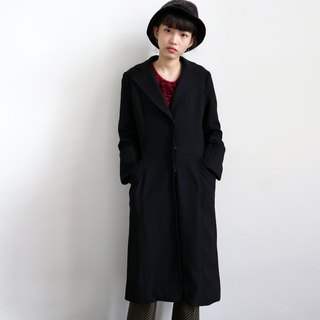 Pumpkin Vintage. Ancient black coat coat