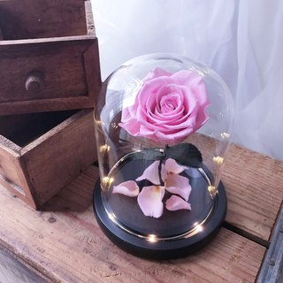 Beauty and the Beast - Pink Rose / Opening Gift / FLORA