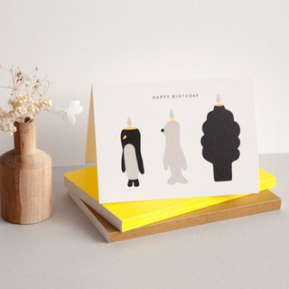 PENGUIN & FRIENDS - CARD