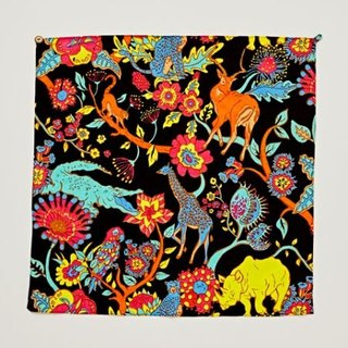 Pre-order full version of animal and flower square / handkerchief