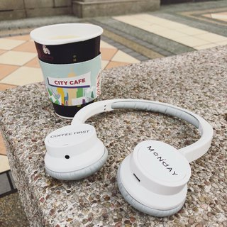 BRIGHT Customized Bluetooth Headset Coffee Lover Monday no longer gloom