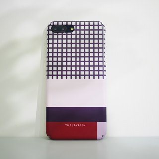 GRAPHIC PRINT - DEEPRED iPhone CASE