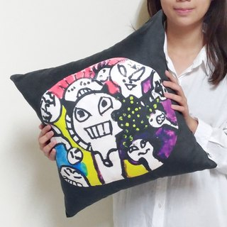 Graffiti Drawings [Customer] Square 45cm Large pillow Parenting Gift