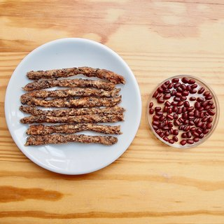 (dogs and cats snacks) Wandan red bean chicken strips 80g - limited origin