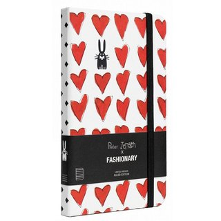 FASHIONARY x Peter Jensen - Pocket Love Limited Edition Notebook