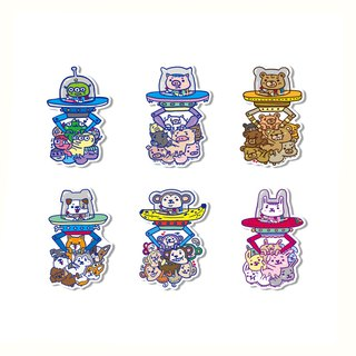 Waterproof sticker - cute catching doll machine