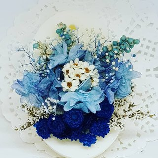 Summer Blessings Fragrance Tiles Blue Hydrangea Wedding Small Things Home Decoration Gifts