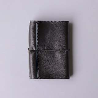 2019 leather PDA | A6 | black | replaceable inside page