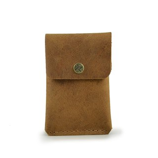 [U6.JP6 handmade leather] - hand sewn for men and women / Universal wallet / document bag