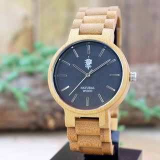 EINBAND Dank Bamboo 40mm Wooden Watch