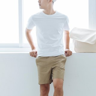hao Khaki Pocket Shorts khaki pocket shorts