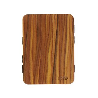Resso European Handmade Wood Business Card Holder Wood Series - Ironwood