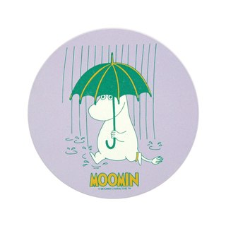 Moomin Moomin authorization - water coaster: [walking in the rain] (circle / square)