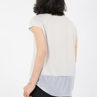 Nude-comfortable reflective suction sleeveless - apricot