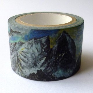 ✐ Liuyingchieh: Masking Tape ✐ US rock collection = and paper tape Washi Masking Tape 30 mm x 10 m original landscape landscape paper tape. Travel sketch