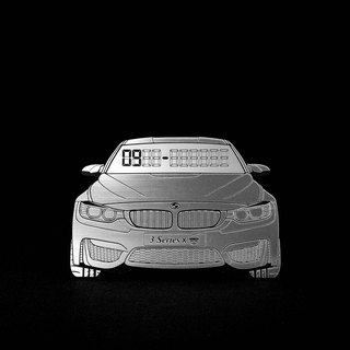 [BMW F30 3-SERIES] exclusive hair temporary parking card number