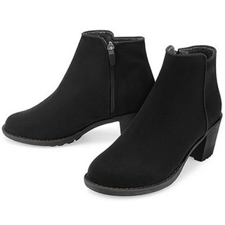 PRE-ORDER - SPUR Mould warm ankle LF9099 BLACK
