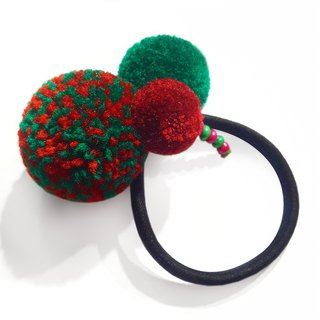 Christmas gift / custom / handmade hair ball hair ring / bracelet