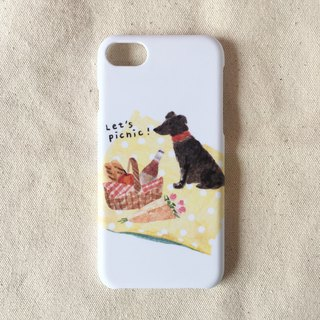Going for a picnic/phone case