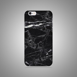 """Shell series"" - black marble multi-pattern original phone shell / protective cover (hard shell) iPhone / Samsung / HTC / Sony / LG"