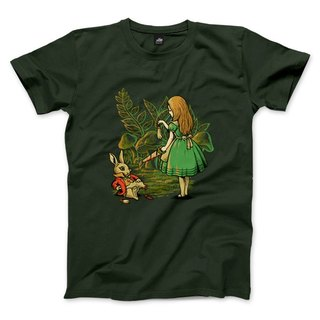Rabbit's foot - Forest Green - Unisex T-Shirt