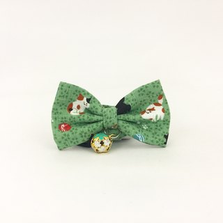 Afternoon cat cat mini dog small dog bow decorative collar