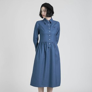 Higgs Higgs College Dress _8AF100_Light Blue