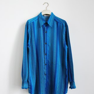 Vintage psychedelic ripple shirt