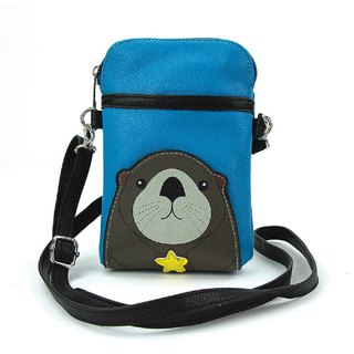 Sleepyville Critters - Sea Otter Crossbody Pouch