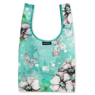 Murmur lunch bag / butterfly green BDB19