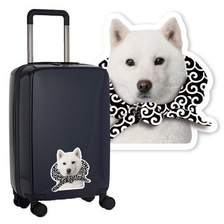 :toPET Custom - Luggage Stickers (Size M-XL)