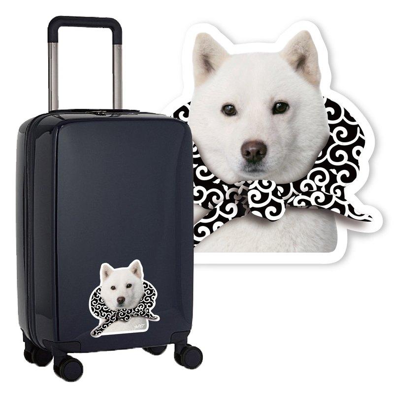 【 :toPET 客製化】行李箱貼紙