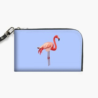 Snupped Isotope - Phone Pouch - Pink Flamingo