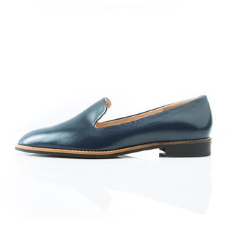 NOUR classic / NOUR 經典款 - loafer 全素面樂福鞋 - Ginepro 伽藍色
