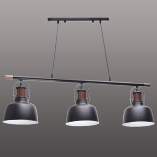 British retro three lamp chandelier -BNL00125