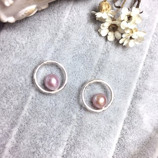 MIH Goldsmith Jewellery | Cherished Pearl Silver Earrings Pearl