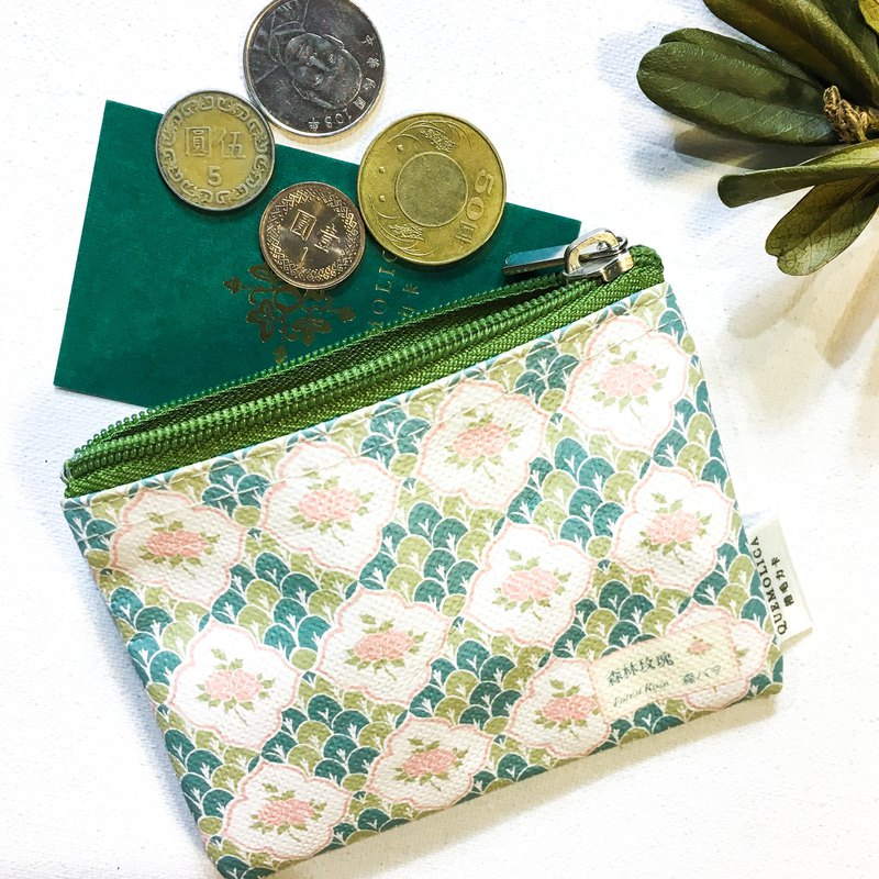 Coin Purse∣ FOREST ROSE