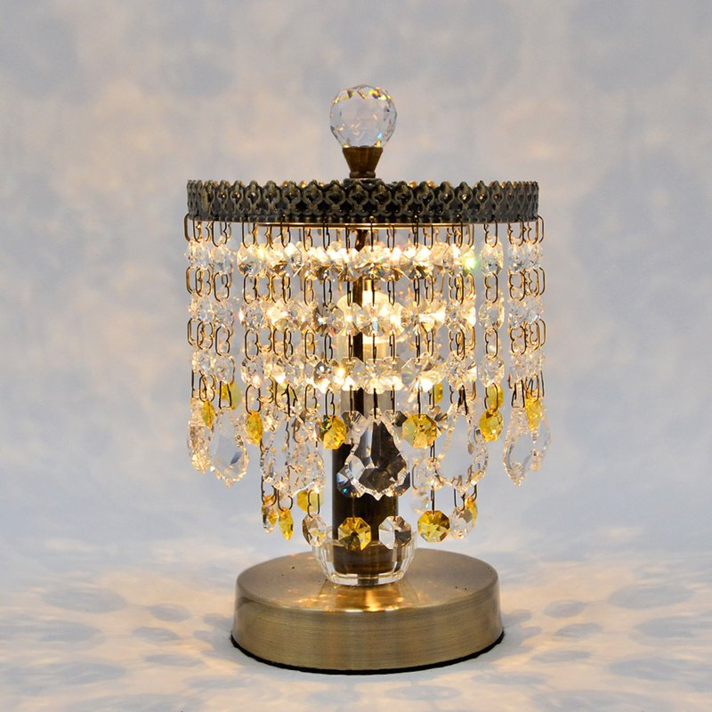 DREAM LIGHTS crystal table lamp