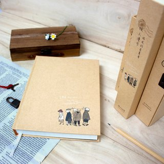 Boge stationery x traveler [leather hardcover 50K lock diary] two designs