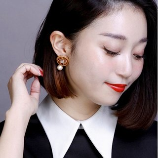 [Luce Costante] Londe earrings / LC-15137, LC-15138 (needle / ear button)