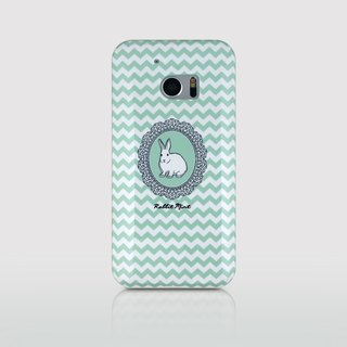 (Rabbit Mint) mint Phone Case Rabbit - Rabbit Portrait Series - HTC 10 (P00079)