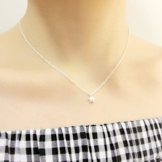 Hope Star Clavicle Chain S925 Sterling Silver Necklace Anti-allergic