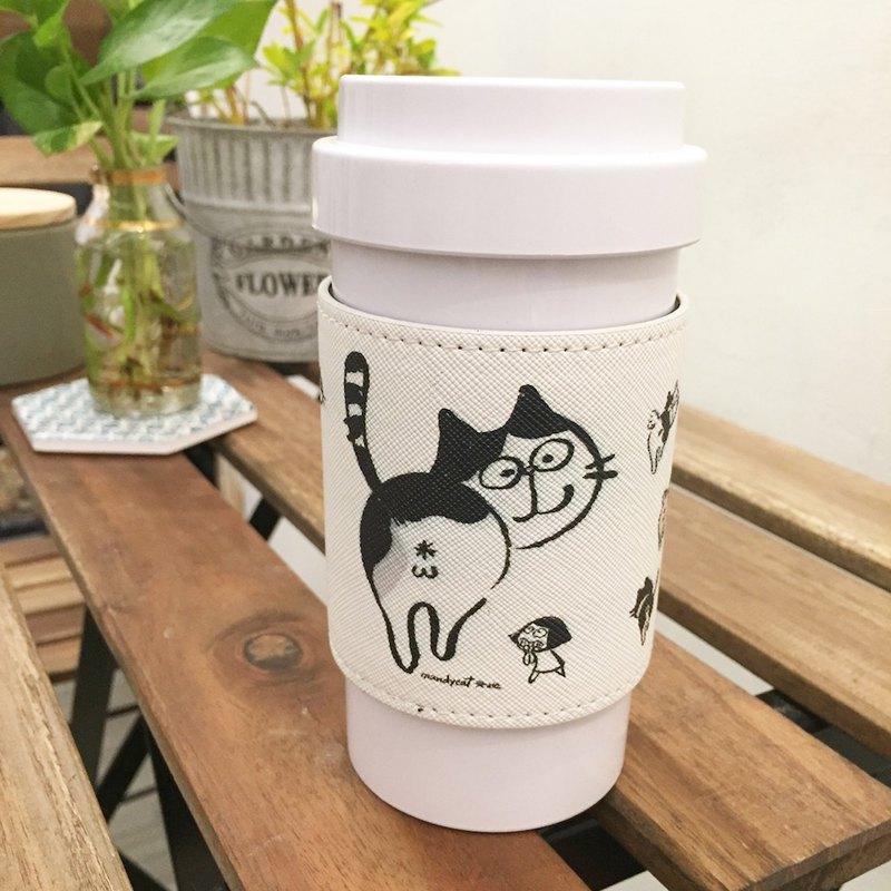 0%膠 文地貓咖啡Mug