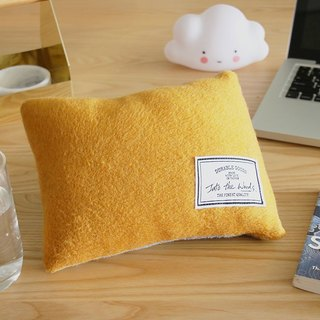 Lunch Break Pillow - Sunshine yellow