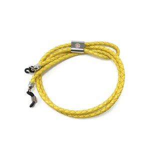 Genuine Leather Eyewear Strap ( Yellow )