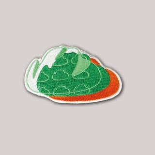 Mountain Embroidery Cap - Lively Color Edition