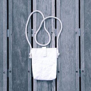 [Paper made possible] Plain simple n natural series small bag (white)